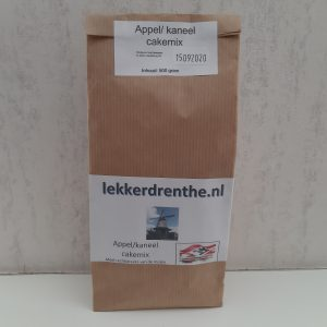 Appel/kaneel cake mix