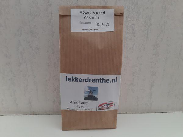 Appel/kaneel cake mix