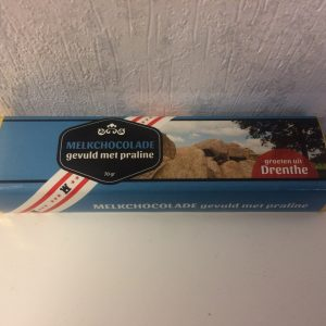 Chocoladereep Groetn uut Drenthe