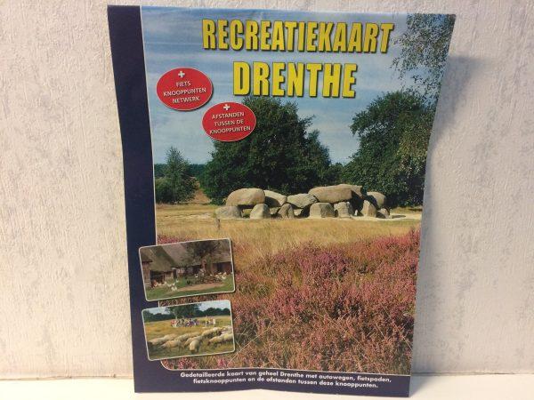 Recreatiekaart Drenthe