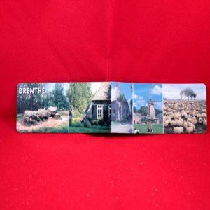 Magneet met afbeeldingen van Drenthe