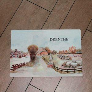 Placemat Drenthe