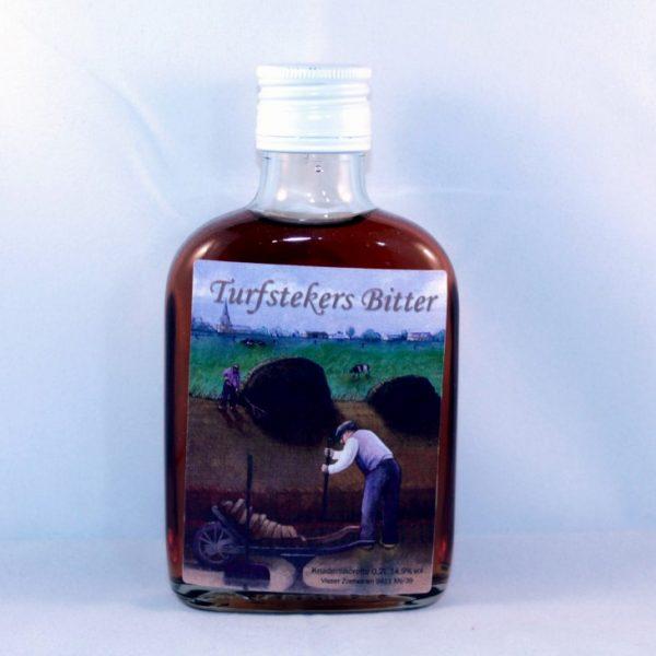 Zakfles turfstekers bitter 0,2 liter